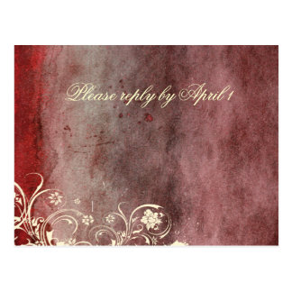 Urban Decay Red RSVP Postcard