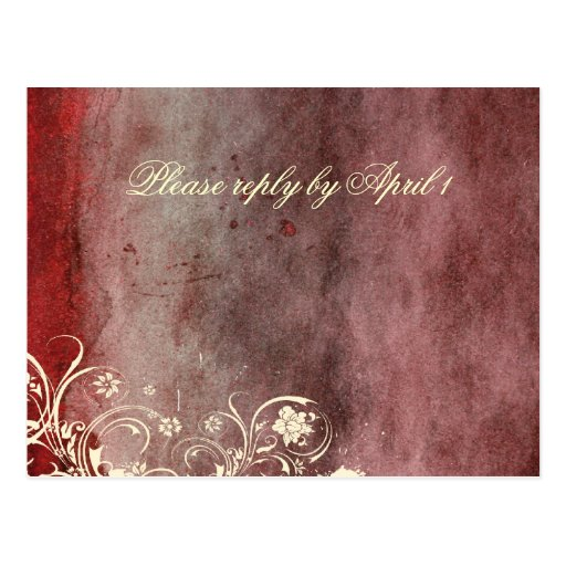Urban Decay Red RSVP Postcards