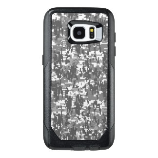 Urban Digital Camouflage Decor on a OtterBox Samsung Galaxy S7 Edge Case
