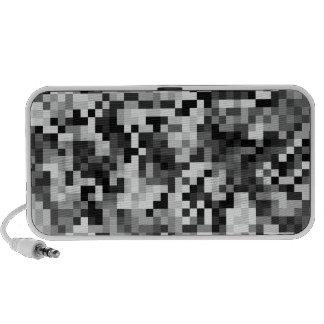 Urban Digital Camouflage iPhone Speaker