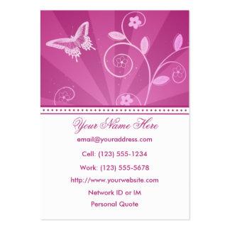 Urban Diva Profile Business Card