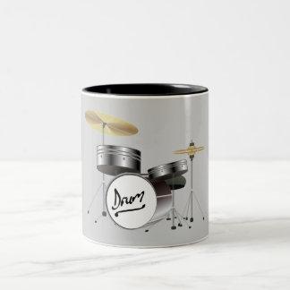 URBAN DRUM SET Two-Tone COFFEE MUG