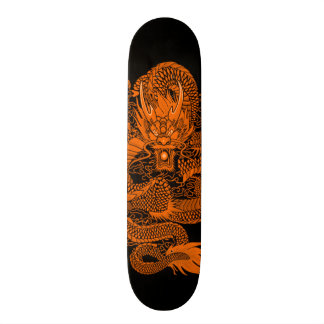 Urban Eastern Dragon Element Custom Pro Deck 21.3 Cm Mini Skateboard Deck
