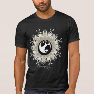 Urban face on black. T-Shirt