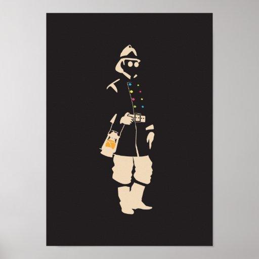 Urban Faerie — Firefly-Lighter Print