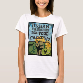 Urban Farmers for Food Freedom Logo T-Shirt