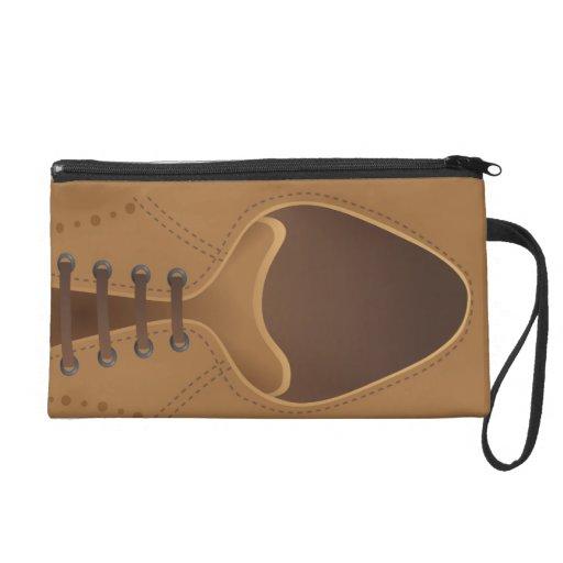 Urban Fashion Brown Leather Men Shoe Cosmetic Bag