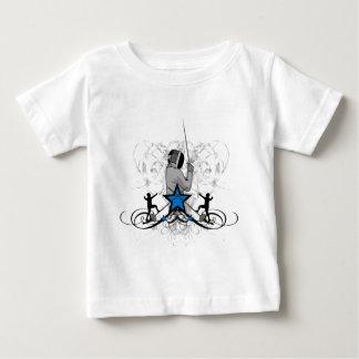 Urban Fencing Illustration T Shirt