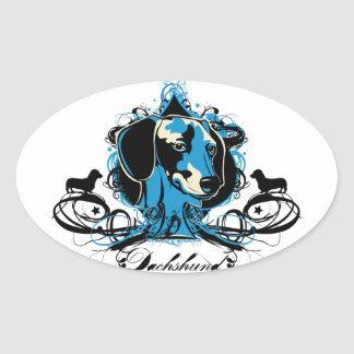 Urban Flourish Dachshund Sticker