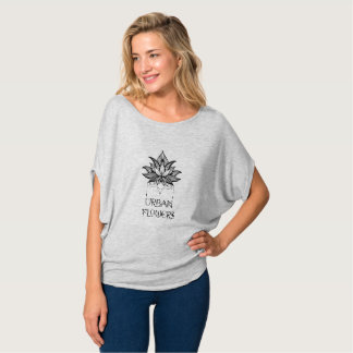 Urban Flowers Slouchy Shirt