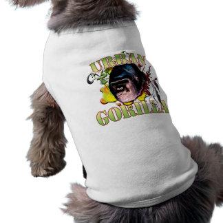 Urban Gorilla Sleeveless Dog Shirt