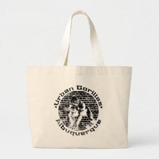 Urban Gorillas Albuquerque Large Tote Bag