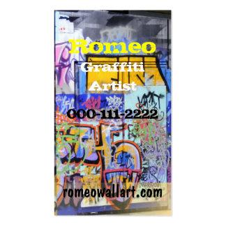 Urban Graffiti Business Card