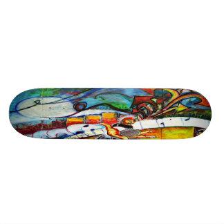 Urban Graffiti Custom Skateboard
