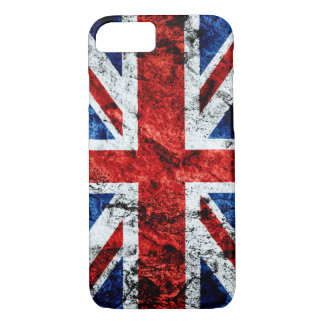 Urban Grunge British Flag iPhone 7 Case