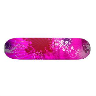 Urban Grunge Pink Skate Deck