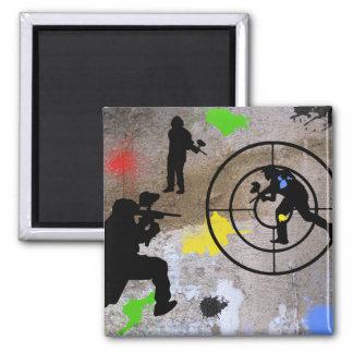 Urban Guerilla Paintball Magnets