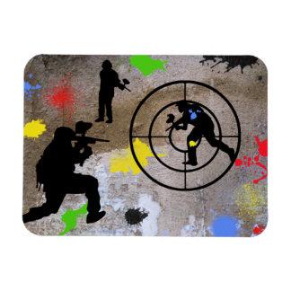 Urban Guerilla Paintball Rectangular Magnets