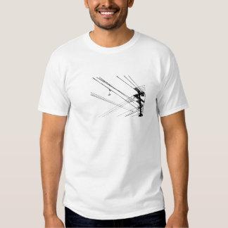 Urban hanging shoes t-shirts