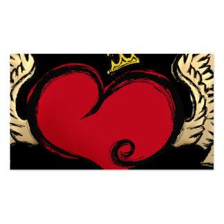 Urban Heart Designer Pack Of Standard Business Cards