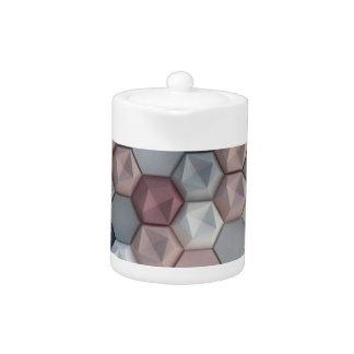 Urban Hexagons Small Teapot