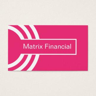 Urban Hipster Business Card, Pink