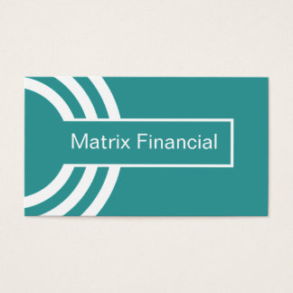 Urban Hipster Business Card, Teal Business Card