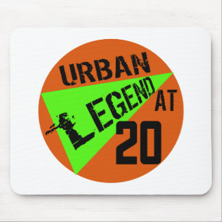 Urban Legend 20th Birthday Gifts Mouse Pad