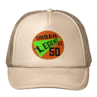 Urban Legend 50th Birthday Gifts Cap