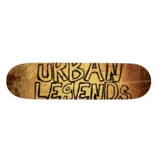 urban legends 18.1 cm old school skateboard deck