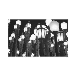 Urban Light Canvas Prints