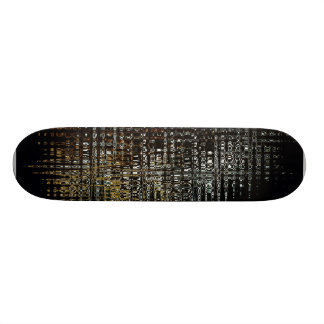 Urban Lights Abstract Skateboard