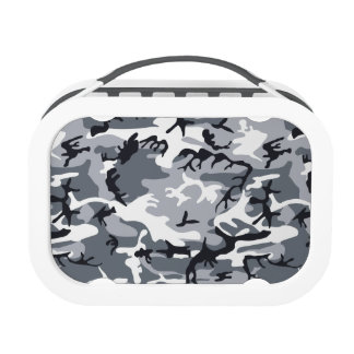 Urban Military Camouflage Lunchboxes