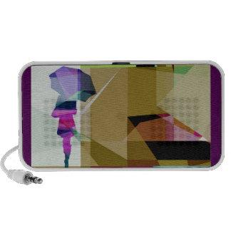 Urban mini rain loudspeaker portable speaker