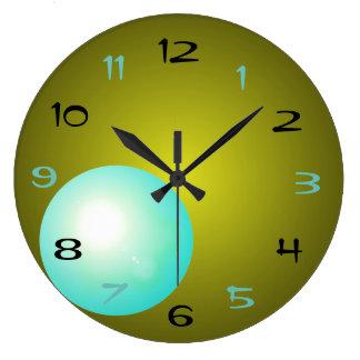 Urban Modern Hipster Contemporary Designer Clock