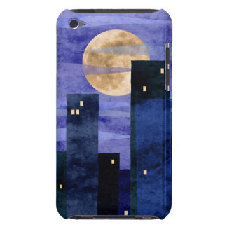 urban moon collage iPod touch Case-Mate case