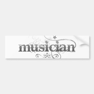 Urban Musician Bumper Sticker