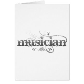 Urban Musician Card