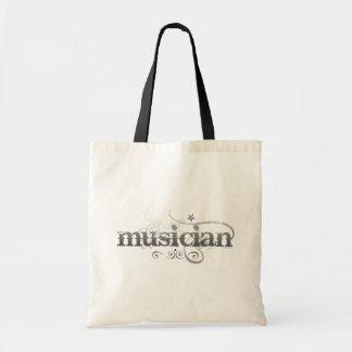 Urban Musician Tote Bag