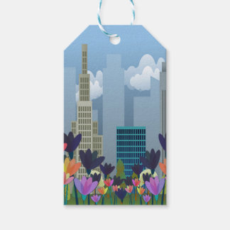 Urban nature gift tags