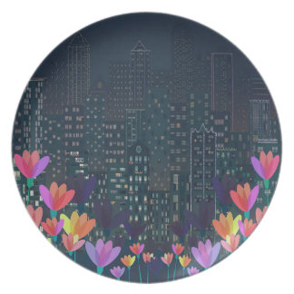 Urban nature plate
