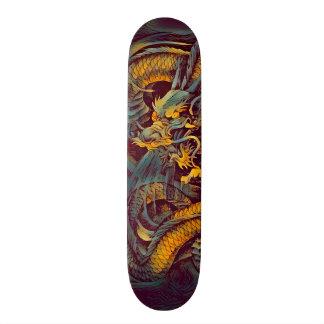 Urban Ninja Evil Dragon Element Custom Pro Board 19.7 Cm Skateboard Deck