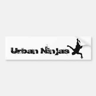 Urban Ninjas Bumper Sticker