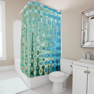 Urban Oasis Shower Curtain by Artist C.L. Brown