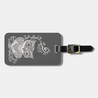 Urban Owl Luggage Tag