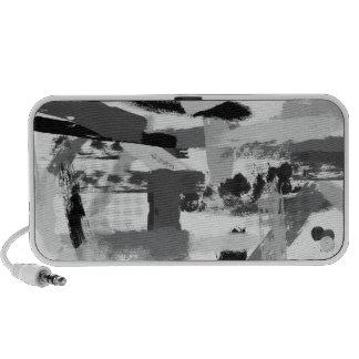 Urban Paint Stroke Camouflage Notebook Speaker