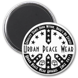 Urban Peace Wear 6 Cm Round Magnet