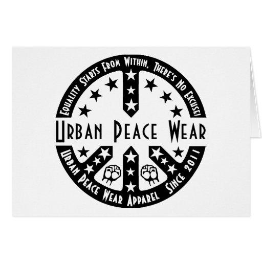 Urban Peace Wear Cards