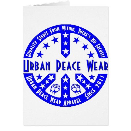 Urban Peace Wear Greeting Cards