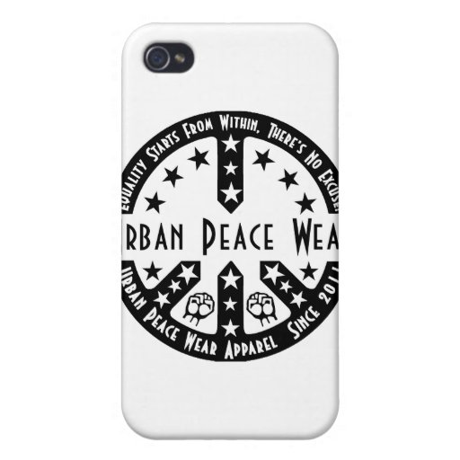 Urban Peace Wear iPhone 4/4S Cases